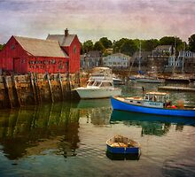 Rockport Harbor by Claudia Kuhn