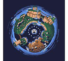 Mario World Planet Photographic Print