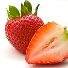 Strawberries by Ellesscee