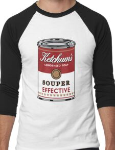 Souper Effective Men's Baseball ¾ T-Shirt