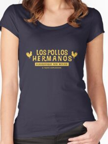 Los Pollos Women's Fitted Scoop T-Shirt