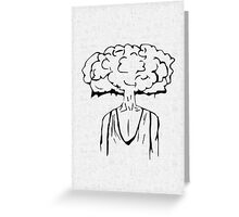 Cloud of Thoughts Greeting Card