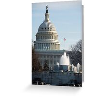 The U. S. Capitol > Greeting Card