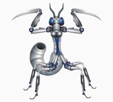 Robot-mantis Baby Tee