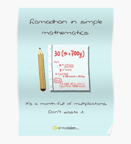 Ramadhan in Simple Mathematics Poster