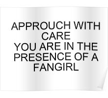 Fangirl warning  Poster