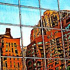 Chicago Reflection by Robyn Carter