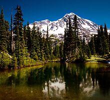 Mirror Lakes by Mikhail Lenitsyn
