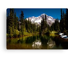 Mirror Lakes Canvas Print