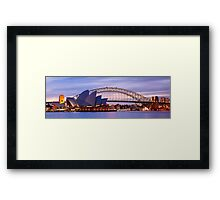 Classic Sydney, New South Wales, Australia Framed Print