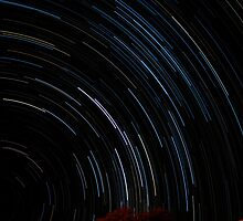 Star Trails to the Heavens by FoxFotography