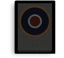 Roll of Honour 75(NZ) Squadron RAF 'Roundel' Canvas Print