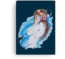 Falling Away With You Canvas Print