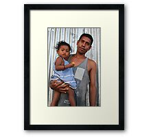Apa ho oan by David da Silva Framed Print