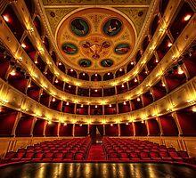 Classical theatre in Syros  by Antonis Lemonakis