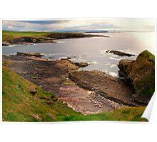 Rugged Coast Mullaghmore Ireland  Poster