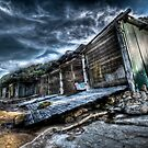 Sandon Point Boat Sheds by Ryan Conyers