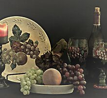 Plate of Fruit by Sherry Hallemeier