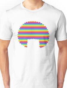 rainbow afro Unisex T-Shirt