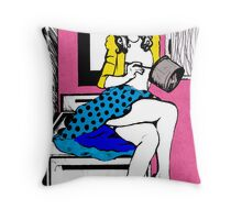 Welcome Home Dear II Throw Pillow