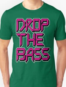 Drop The Bass (pink) Unisex T-Shirt