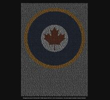 Roll of Honour 75(NZ) Squadron RCAF 'Maple' Unisex T-Shirt