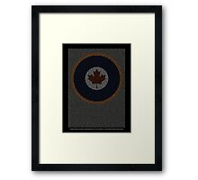 Roll of Honour 75(NZ) Squadron RCAF 'Maple' Framed Print