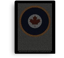 Roll of Honour 75(NZ) Squadron RCAF 'Maple' Canvas Print