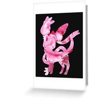 Sylveon used fairy wind Greeting Card
