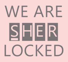 We Are Sherlocked One Piece - Short Sleeve