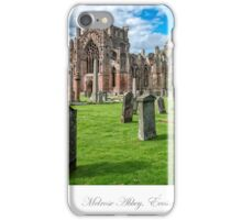 Melrose Abbey iPhone Case/Skin
