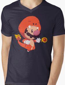 Char Suit Mens V-Neck T-Shirt