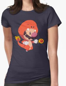 Char Suit Womens Fitted T-Shirt