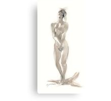 Waxing Light Canvas Print