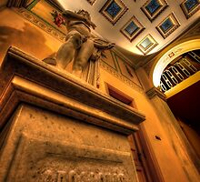 Statue of God Apollo by Antonis Lemonakis