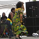 Judy Mowatt Dances to The Reggae Beat by Sandra Gray