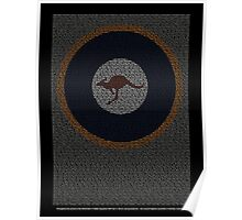 Roll of Honour 75(NZ) Squadron RAAF 'Roo' Poster