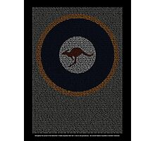 Roll of Honour 75(NZ) Squadron RAAF 'Roo' Photographic Print