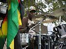 Drummer for Glen Washington by Sandra Gray
