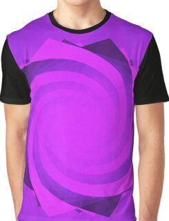Spiral Hexagon | Mushroom Graphic T-Shirt