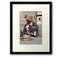 Cobra Music Man Framed Print