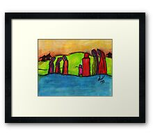 Travelers Framed Print