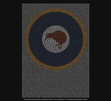 Roll of Honour 75(NZ) Squadron RNZAF 'Kiwi' Unisex T-Shirt