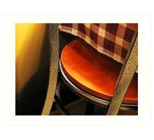 A Chair Art Print