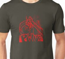 PWNED (owned) Red Unisex T-Shirt