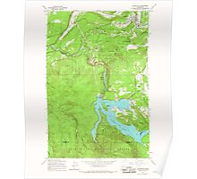 USGS Topo Map Washington State WA Eatonville 240944 1959 24000 Poster