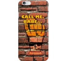 Johnny asks to call him, babe iPhone Case/Skin