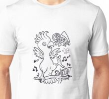 Crazy Cockatoo Unisex T-Shirt