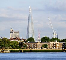 The Shard from Greenwich by Karen Martin IPA