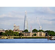 The Shard from Greenwich Photographic Print